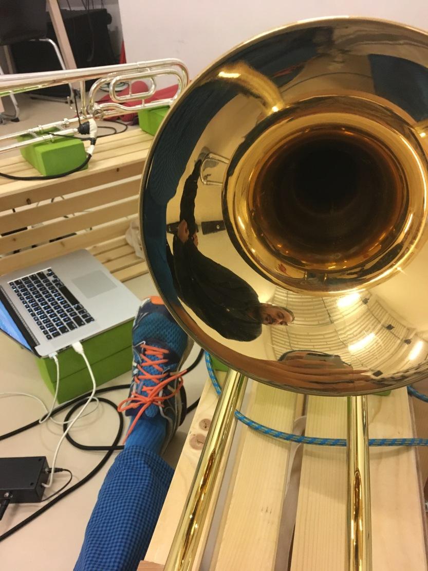 Luke George Trombone Tanzhaus